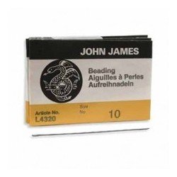Βελόνες John James Beading Needles n.10 10788-B1