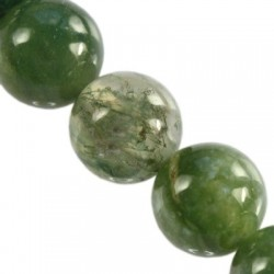Round Bead Moss Agate 2926