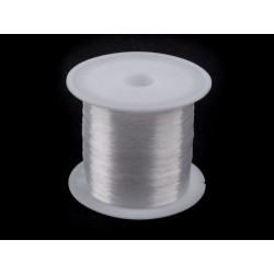 Jewelry nylon string 0,15mm 80m per bobbi   440560