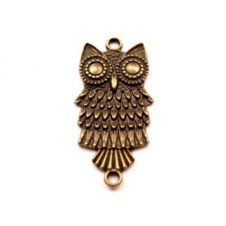 Decotation metal owl  130715