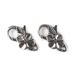 Lobster clasp flower decorative
