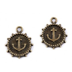 Charm pendant anchor 14mm 220661