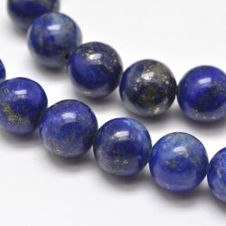 Beads lapis lazuli G-E262-01-6mm (Price per piece)