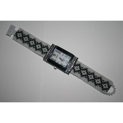 watch with bracelet from beads  6301