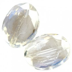 Crystal oval faceted 10663 (Price per piece)