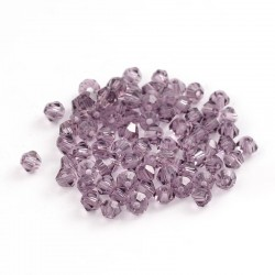 Faceted bicone  GLAA-E019-3mm-36