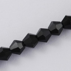 Faceted bicone  GLAA-S026-6mm-10