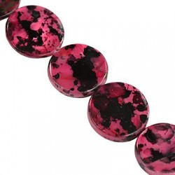 Mother of pearl  coins 14mm   10060