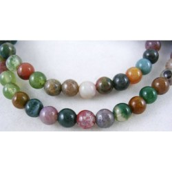 Natural indian agate      GSR4mmC002