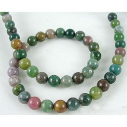Natural indian agate      GSR6mmC002