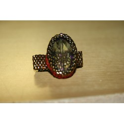 Ring with beads    6639