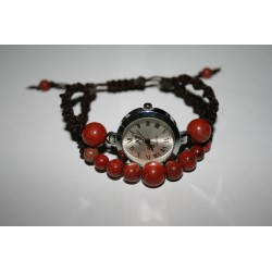 Watch with macrame   7040