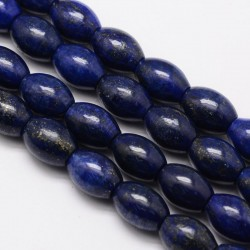 Natural Lapis Lazouli oval beads  14x10mm G-M264-20